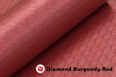 Diamond Burgundy Red