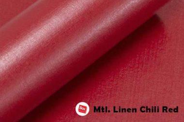 Mtl.Linen Chili Red